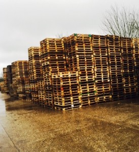 Our pallets in stock in Suffolk